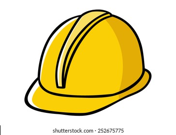cartoon hard hat images stock photos vectors shutterstock rh shutterstock com construction helmet clip art