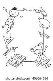 Doodle kids Frame