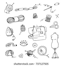 Machine Embroidery Thread Stock Illustrations Images Vectors