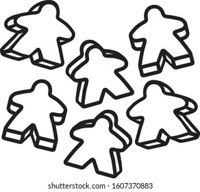 Meeple Png , Transparent Cartoon, Free Cliparts & Silhouettes - NetClipart