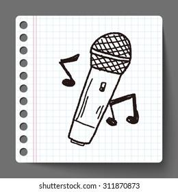 doodle microphone