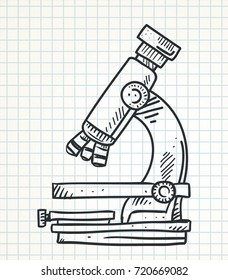 1000 Microscope Drawing Stock Images Photos Vectors