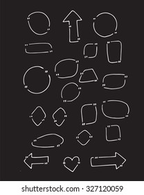 Doodle quotes in vector