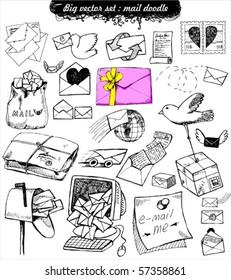 doodle set : mail