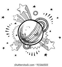 Cricket Ball Doodle Images Stock Photos Vectors