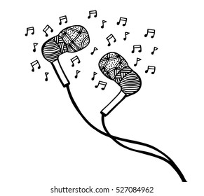 Royalty Free Music Notes Sketch Images Stock Photos Vectors