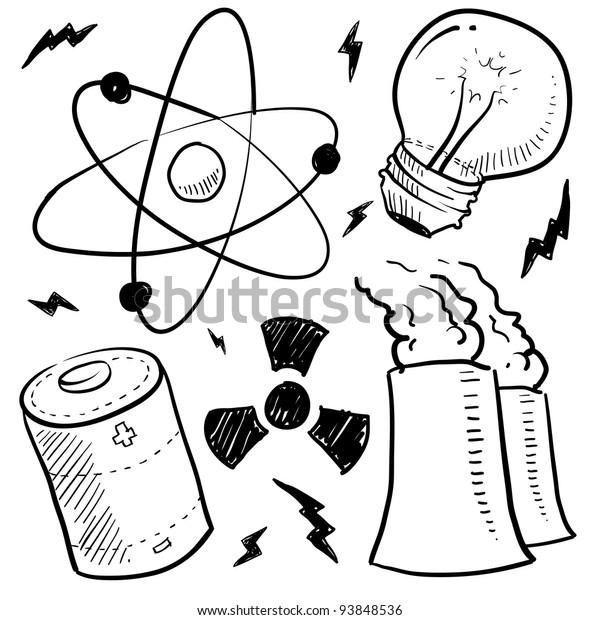 Nuclear Energy Clip Art