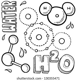 Water Molecule Diagram Black And White.Hydrogen Molecule Images Stock Photos Vectors Shutterstock