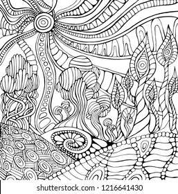 Trippy Aesthetic Coloring Pages Floss Papers