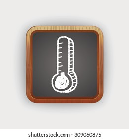 doodle thermometer