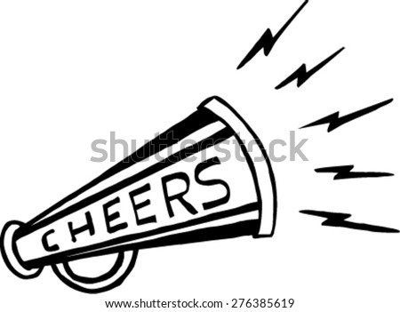 Doodle Vector Bullhorn Symbol Stock Vector Royalty Free 276385619