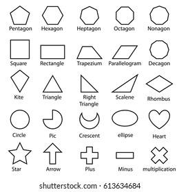 Doodle vector shape sign design