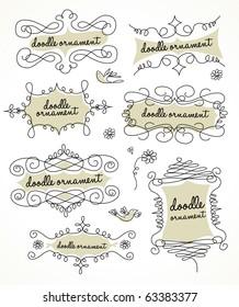 doodles ornament