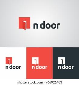 Door logo images stock photos vectors shutterstock in door business logo design template cheaphphosting Image collections