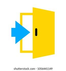 Door icon - Enter