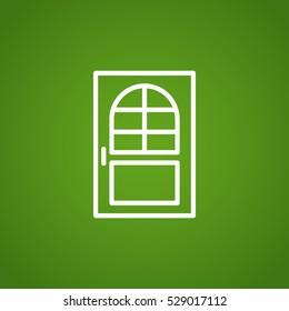 door icon Flat.