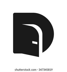 door logo vector.