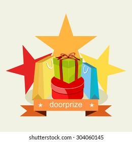 Door prize. Prize Gift concept.  sc 1 st  Shutterstock & Door-prize Images Stock Photos \u0026 Vectors   Shutterstock