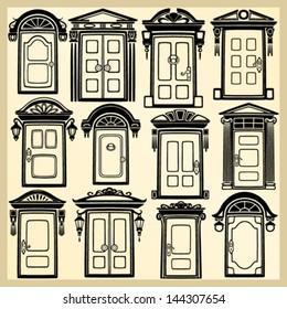 Door silhouettes