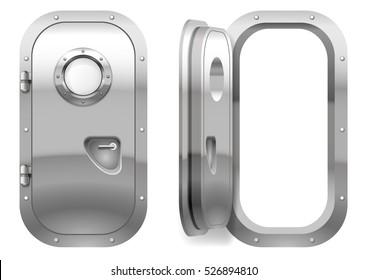 The door and window of the ship polishing metal. Perhaps the door compartment of the  sc 1 st  Shutterstock & Submarine Door Images Stock Photos \u0026 Vectors | Shutterstock