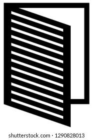 Dossier, file, folder symbol or icon. Simple dossier icon