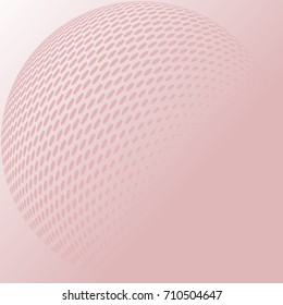 Dot background. Abstract vector illustration.