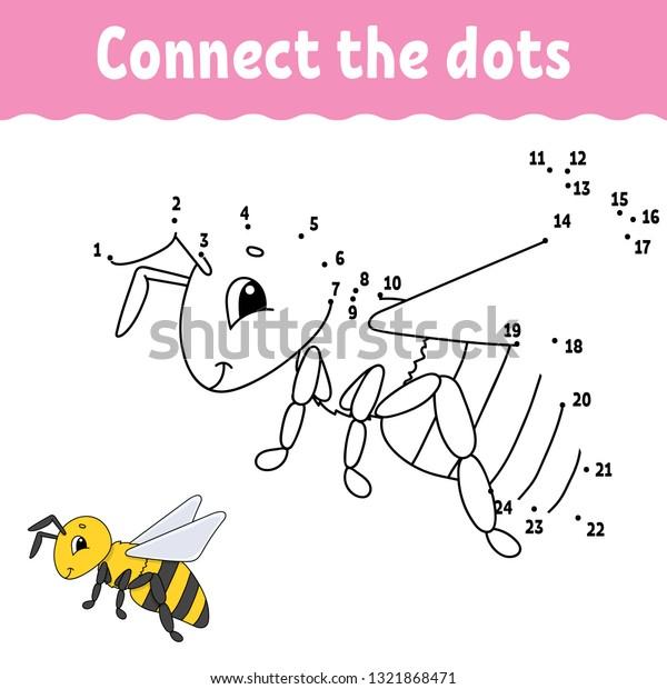 Dot Dot Draw Line Handwriting Practice Stock Vector (Royalty Free)  1321868471