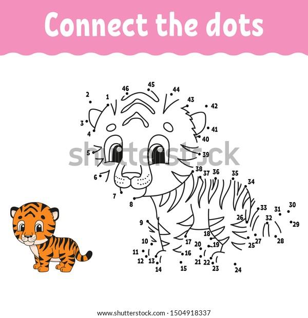 Dot Dot Draw Line Handwriting Practice Stock Vector (Royalty Free)  1504918337