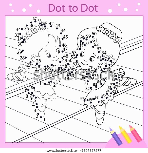 Ballerina Children/'s Activity Book Fun Kids Paint Book Colouring Book Drawing