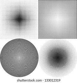 Dot Pattern white