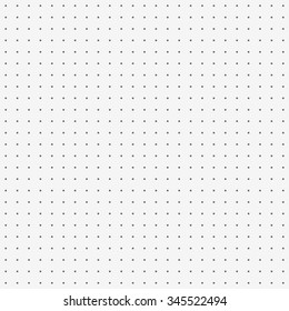 dot pattern white background vector.