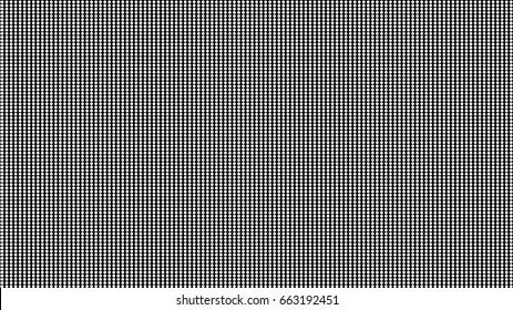 Dot RGB Background television.Black and White color dot use for background design