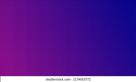 Dot RGB Background television.Blue and pink color dot use for background design.