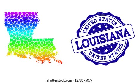 Louisiana Stamp Images, Stock Photos & Vectors | Shutterstock
