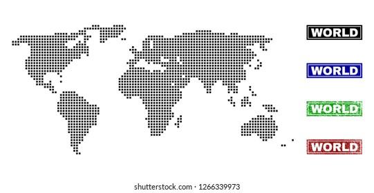 Dot World Map.World Map Dots Images Stock Photos Vectors Shutterstock