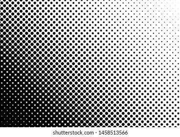 Dots Background. Abstract Overlay. Vintage Backdrop. Fade Distressed Texture. Vector illustration