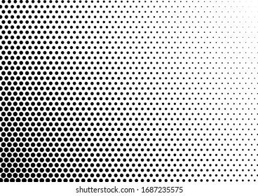 Dots Background. Abstract Pattern. Modern Distressed Texture. Grunge Pop-art Backdrop. Vector illustration
