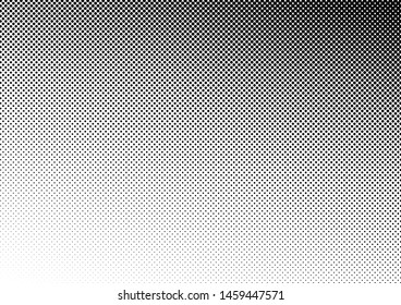 Dots Background. Distressed Backdrop. Halftone Pop-art Overlay. Points Black and White Texture. Vector illustration