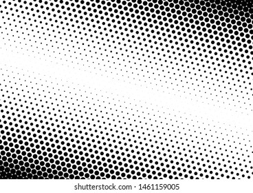 Dots Background. Fade Abstract Overlay. Pop-art Points Backdrop. Gradient Modern Pattern. Vector illustration