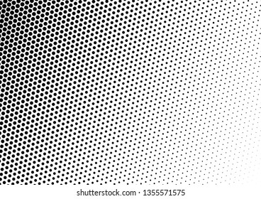 Dots Background. Gradient Overlay. Modern Backdrop. Fade Pattern. Vector illustration