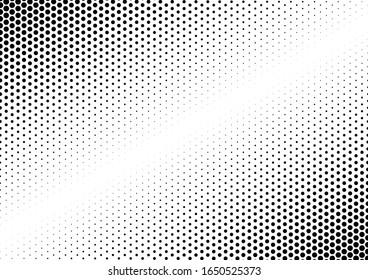 Dots Background. Grunge Backdrop. Gradient Fade Overlay. Modern Pattern. Vector illustration