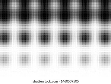 Dots Background. Monochrome Distressed Backdrop. Abstract Pattern. Black and White Texture. Vector illustration