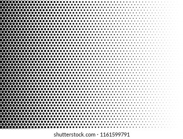 Dots Background. Monochrome Modern Pattern. Vintage Backdrop. Abstract Texture. Vector illustration