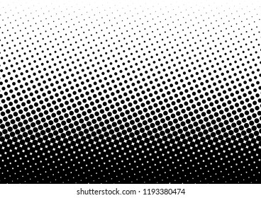 Dots Background. Pop-art Abstract Texture. Gradient Overlay. Monochrome Pattern. Vector illustration