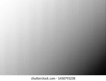 Dots Background. Pop-art Pattern. Black and White Overlay. Gradient Modern Backdrop. Vector illustration