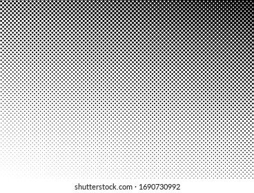 Dots Background. Vintage Pattern. Distressed Texture. Fade Pop-art Overlay. Vector illustration