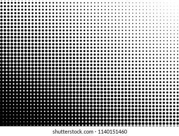 Dots Background. Vintage Pattern. Grunge Gradient Overlay. Modern Pop-art Backdrop. Vector illustration