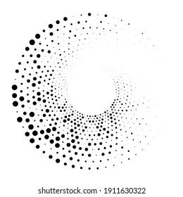 Dots, circles spiral, swirl, twirl