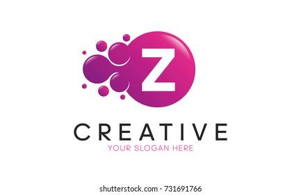 Dots Letter Z Logo