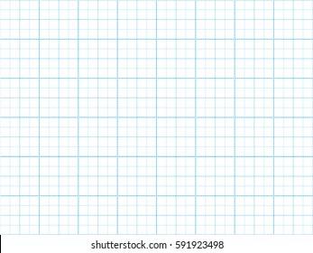 Dotted blue plotting grid line paper. Vector background
